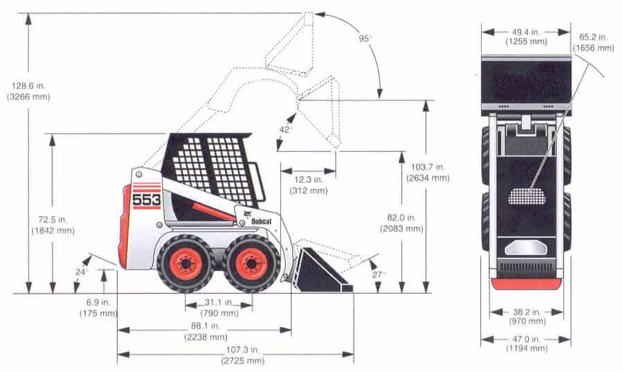 Bobcat-553-wymiary